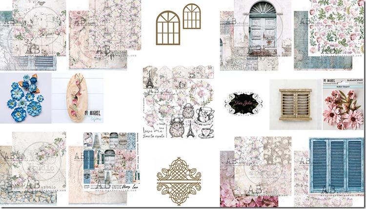 Scrapbook kit graphics